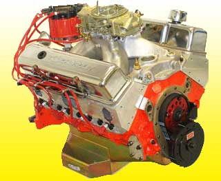 Chevy 427 Race Engine